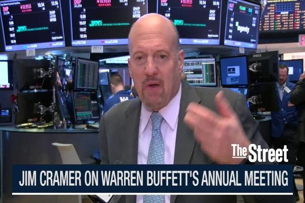 Jim Cramer Breaks Down Warren Buffett's Annual Meeting: IBM, Apple, Burlington Northern