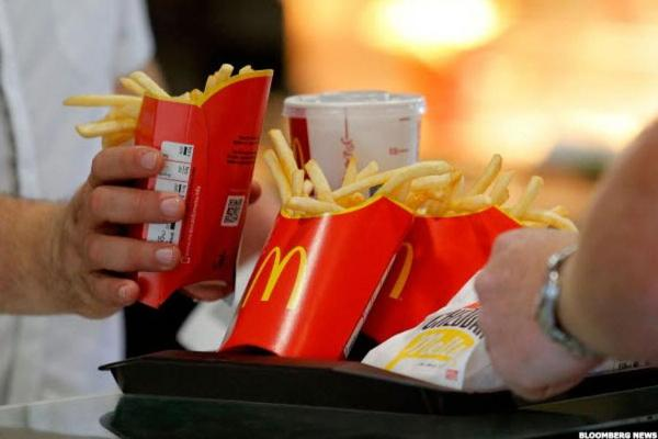 McDonald's Plumps Up Its First Quarter Profits