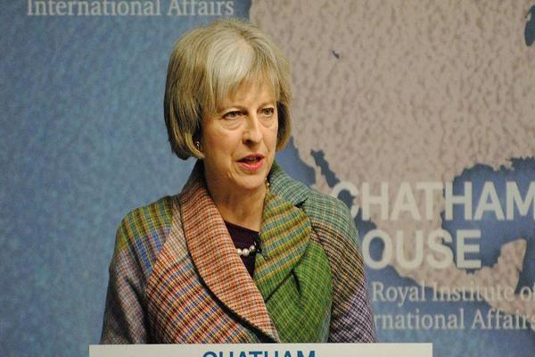 British Prime Minister May Condemns Manchester Attack 'Cowards'