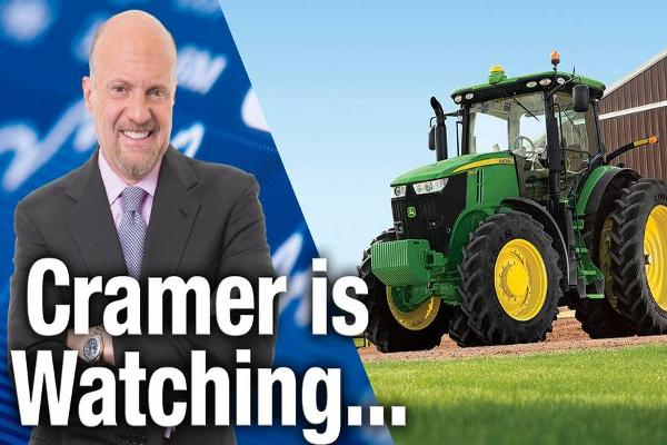 Jim Cramer Is Watching Deere and VF Earnings on Friday