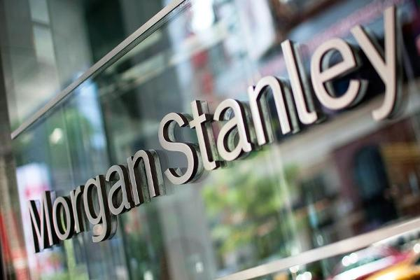 Midday Report: Morgan Stanley Boosts Financials; IBM Drags Dow Into Red