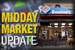 Midday Report: Domino's Hit by Stronger Dollar; Stocks Mixed
