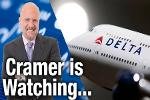 Jim Cramer Is Watching Airlines, Delta Is His Favorite of the Bunch