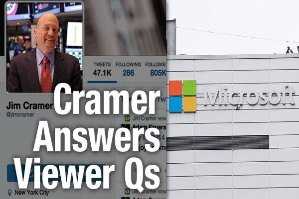 Jim Cramer Says Tech Giants Microsoft, IBM Should Make Acquisitions