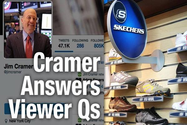 Jim Cramer Likes Skechers, Macy's CEO Terry Lundgren and Says Whole Foods Has More Room to Fall