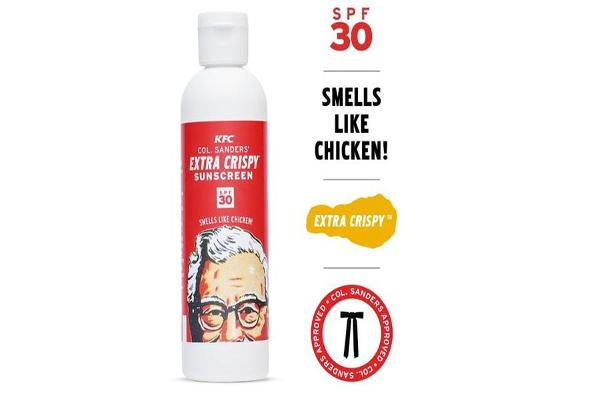 Would You Try KFC's Sunscreen That Smells Like Chicken?
