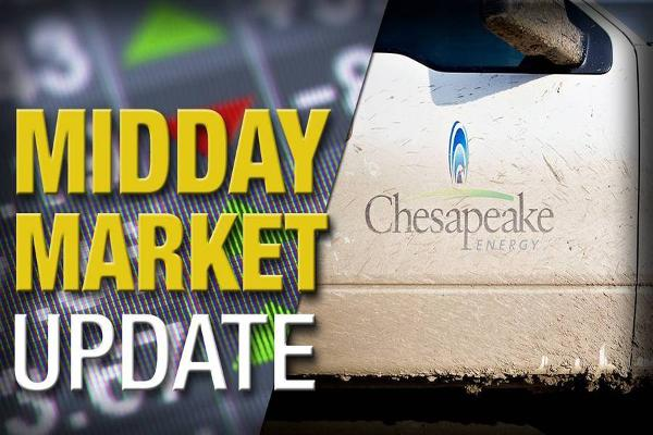 Midday Report: Chesapeake Energy Tanks; Stocks Extend Selloff