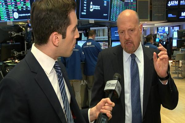 Jim Cramer on Equifax, Wells Fargo, Federal Reserve, FedEx, Adobe and Toshiba