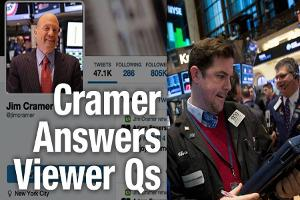 Jim Cramer Says Don't Rush in to Buy Stocks in Monday Selloff