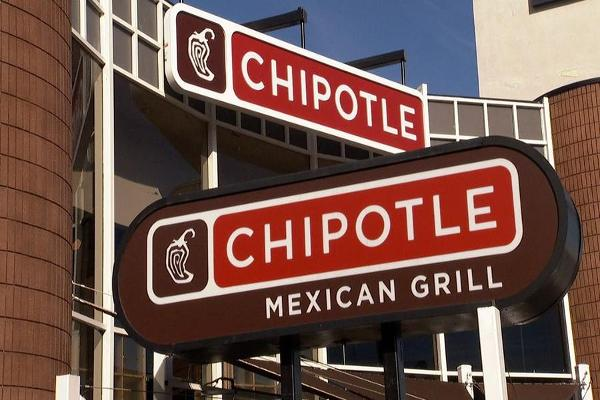 Closing Bell: Chipotle Slumps on Sales Outlook; Dow Sets New Record