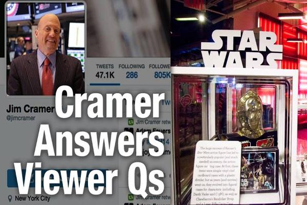 Jim Cramer Says Don't Be Disappointed in Disney on 'Star Wars' Debut