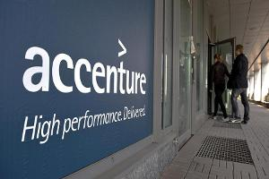Here's Why Shares of Accenture are Higher in Thursday's Session