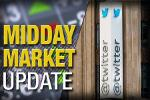 Midday Report: Twitter Jumps on Deal Rumors; Oil Weighs on Stocks