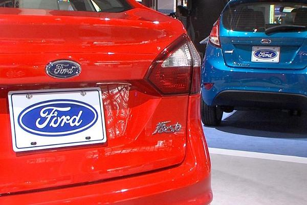 Midday Report: Ford Announces Michigan Jobs; Stocks Break Higher as Financials Gain