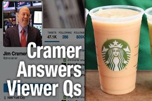 Jim Cramer Says Starbucks, Nike Best Large Cap Stocks for Growth