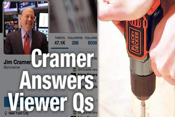 Jim Cramer Says Stanley Black and Decker Going to $110 a Share