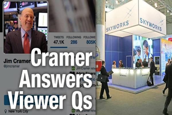 Jim Cramer Says Skyworks, Apple and Costco Are All Going Higher