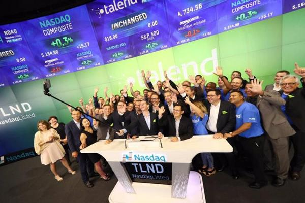 Talend's Initial Public Offering Surges in its Trading Debut