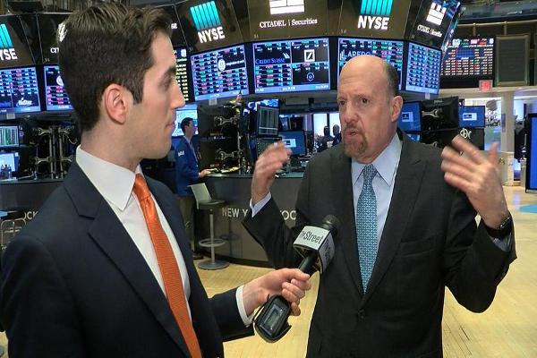 Jim Cramer on GE, Schlumberger, Honeywell, Visa, Facebook, Valeant and Arconic