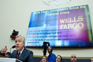 Midday Report: Wells Fargo CEO Under Fire; U.S. Stocks Slide