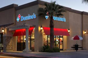 Domino's Pizza Shares Surge on Upbeat Fourth-Quarter Results