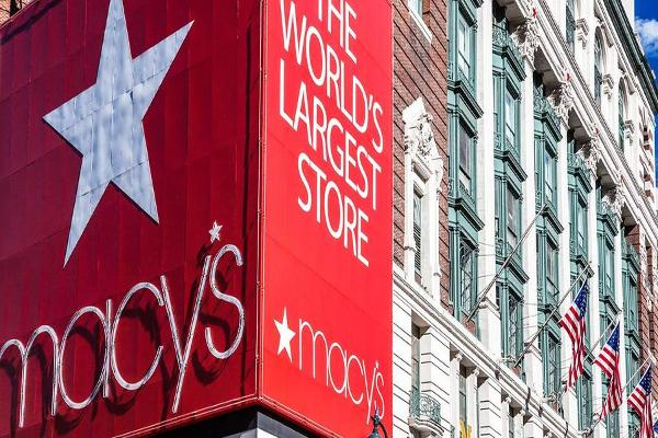 Midday Report: Macy's, Kohl's Bring Down Retail Sector; Nasdaq's Win Streak in Jeopardy