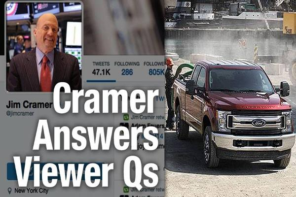 Jim Cramer Recommends Ford Over General Motors Among Autos