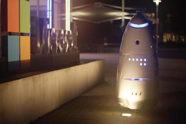 So Long, Mall Cop! Enter Silicon Valley Start-Up's Robot Guards