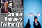 Jim Cramer 'Thrilled' That Jack Dorsey Was Appointed as Twitter's CEO