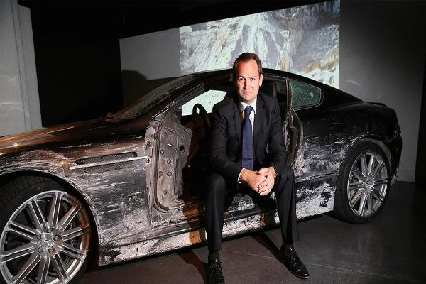 In The Driver's Seat with 007 Stunt Driver and Racecar Champion Ben Collins