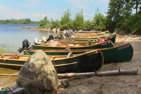 Leave Your Phones and Gadgets Behind and Travel With Us on a Wooden Canoe