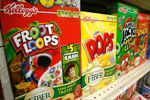Kellogg Shares Climb on Earnings Beat