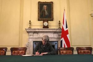 It's Brexit Day--Britain Begins the Brexit Process