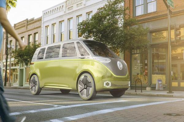 VW Unveils Futuristic I.D. Concept Car at North American International Auto Show
