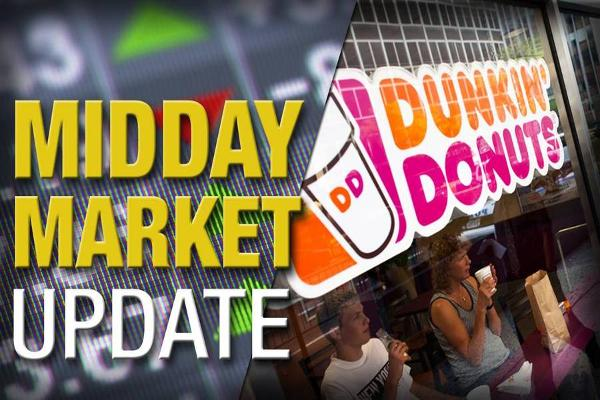 Midday Report: Dunkin' Scores MSG Deal; Stocks Rally on Oil