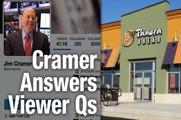 Jim Cramer Says Buy Panera, WhiteWave, and Target but Avoid GoPro