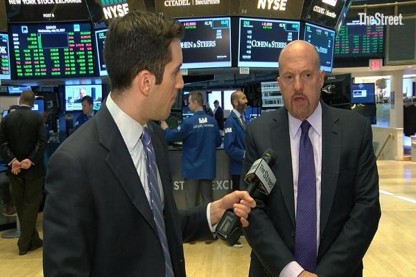 Jim Cramer on Nvidia, Apple, Facebook, Amazon, Alphabet, Morgan Stanley, IBM, Microsoft, Chipotle, Discovery and United Airlines
