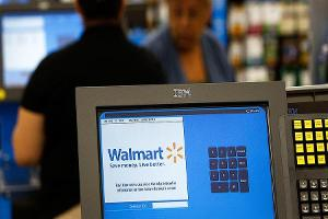 Midday Report: Walmart Leads Dow Higher on Keybanc Rating