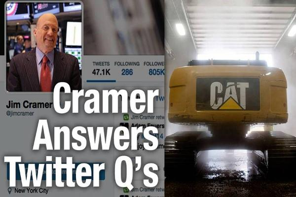 Jim Cramer Says Caterpillar's Announced Job Cuts 'Were Chilling'