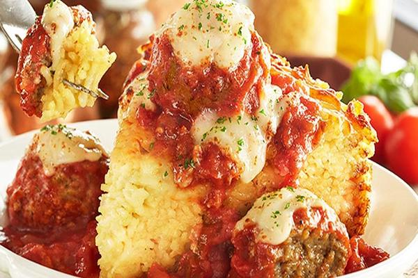 We Ate Olive Garden's New Spaghetti Pies and Now Get Darden's Revival