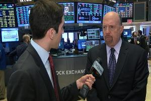 Jim Cramer on Becton Dickinson, Kimberly Clark, Caterpillar, Chipotle 3M and the Government Shutdown