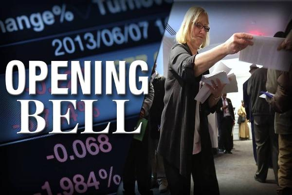 U.S. Stocks Open Down as July Job Growth Comes in as Expected