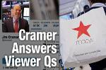 Jim Cramer Says Buy Macy's Over Gap, and Walmart Over Dollar Stores
