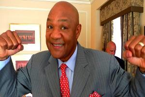 Heavyweight Champ George Foreman Says Bonds Are a Knockout