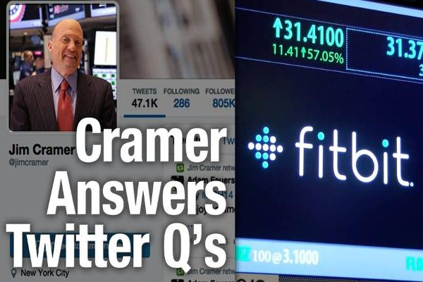 Jim Cramer Gives His Blessing to Fitbit Stock at $35 - $40