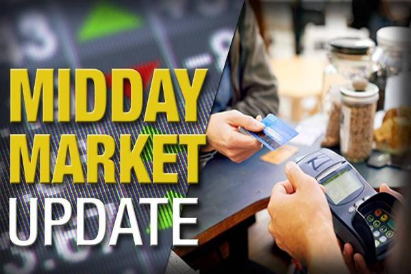 Midday Report: Heartland Jumps on Deal; Crude Stocks Climb
