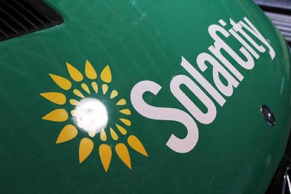 SolarCity Rises on Merger's Vote of Confidence
