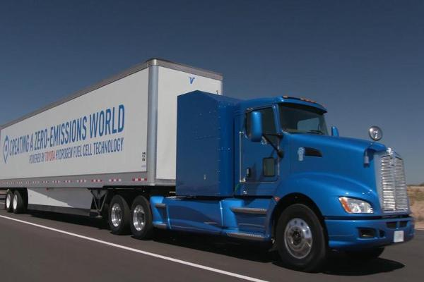 Toyota Takes Aim at Tesla With a New Hydrogen Fuel Truck