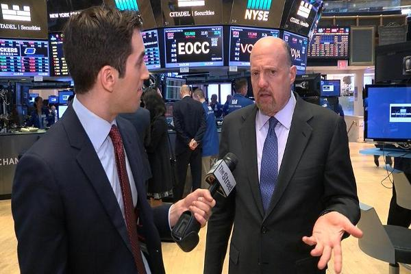 Jim Cramer on Trump Selloff, Target, Urban Outfitters, Apple, Salesforce, Walmart and Gap