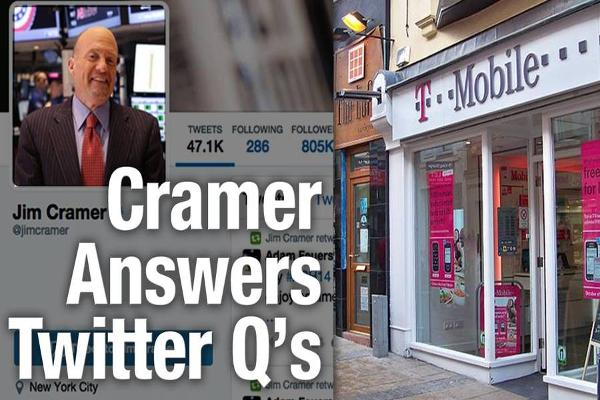 Cramer Sees T-Mobile Pricing Impacts; Doesn't Recommends Gold ETFs